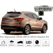 Рамка под камеру заднего вида для Hyundai Santa Fe (13-15) / Creta (15-18) №8263
