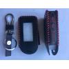 Чехол для брелка кожа КРАСНАЯ нить ПЛЕТЕНКА без пленки SL E60/E90/E93