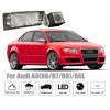 Рамка под камеру заднего вида для Audi A4 B8 (08-15) Разм.75мм*33мм №HS-8027В