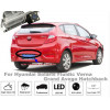 Рамка под камеру заднего вида для Hyundai Solaris I Hatchback(11-16) \ Kia Rio 3 Hatchback(11-17) Разм.95мм*33мм №HS-8155