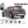 Рамка под камеру заднего вида для Mercedes Benz GL (12-16)/W176/204/212/213/207 Разм.45мм*35мм №HS-8244