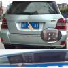 Рамка под камеру заднего вида для Mercedes Benz GLK (08-15) Разм.51мм*46мм №HS-8204