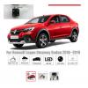 Рамка под камеру заднего вида для Renault Logan Stepway Sedan (18-20) ARKANA (19-20) №HS-8379