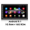 Автомобильная магнитола PODOFO A2902 (7 дюймов,Android 9.1,Память 1+16Гб,процессор:MTK 8227L)