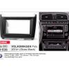 Переходная рамка 2DIN 7 дюймов (11-538) VOLKSWAGEN Polo 2014+ Черная Разм.173x98 /178x102