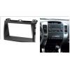 Переходная рамка 2DIN 7 дюймов (№11-2206) для TOYOTA Land Cruiser Prado (120) 2002-2009  LEXUS GX 470 2002-2009 Разм.173x98/178x102