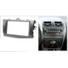 Переходная рамка 2DIN 7 дюймов (CARAV 08-003) для  TOYOTA Corolla 2007-2013 Dark Grey Разм.173x98/178x102