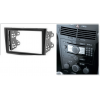 Переходная рамка 2DIN 7 дюймов (CARAV 11-028) для OPEL Astra (H)2004-2010; Antara, Corsa (D) 2006-2015; Zafira (B) 2005-2012 / DAEWOO Winstorm 2008-2011 / GMC Terrain 2008-2010 Black Разм.173x98/178x102