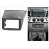 Переходная рамка 2DIN 7 дюймов (Mi016/11-156) для MITSUBISHI L200, Triton 2006-2015; Pajero Sport 2008-2015, Challenger 2008+; Pajero Dakar 2010+ Разм.173x98/178x102