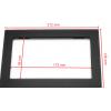 Переходная рамка 2DIN 7 дюймов универсальная (2D01/11-440) (173*98 / 212*138 mm)